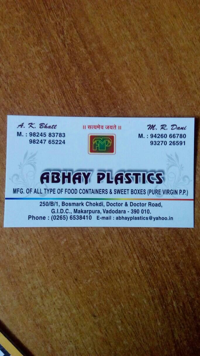 Abhay Plastics - logo