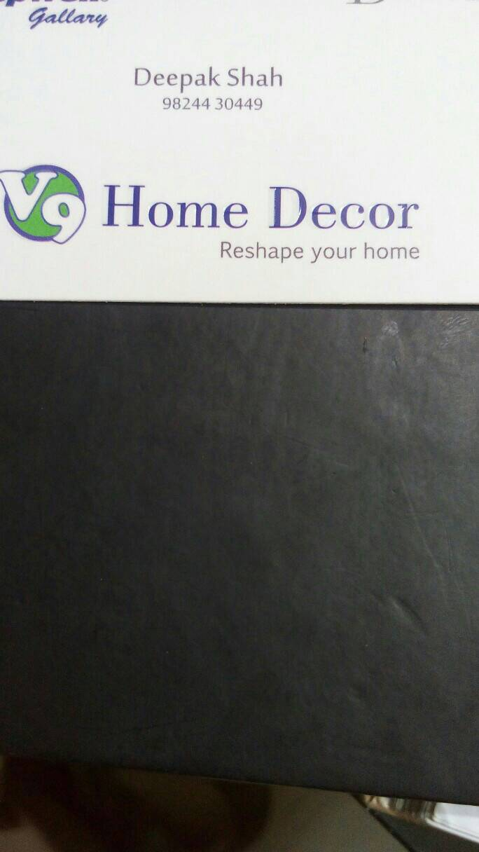 V9 Home Decor - logo