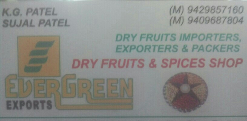 Evergreen Dry Fruits - logo