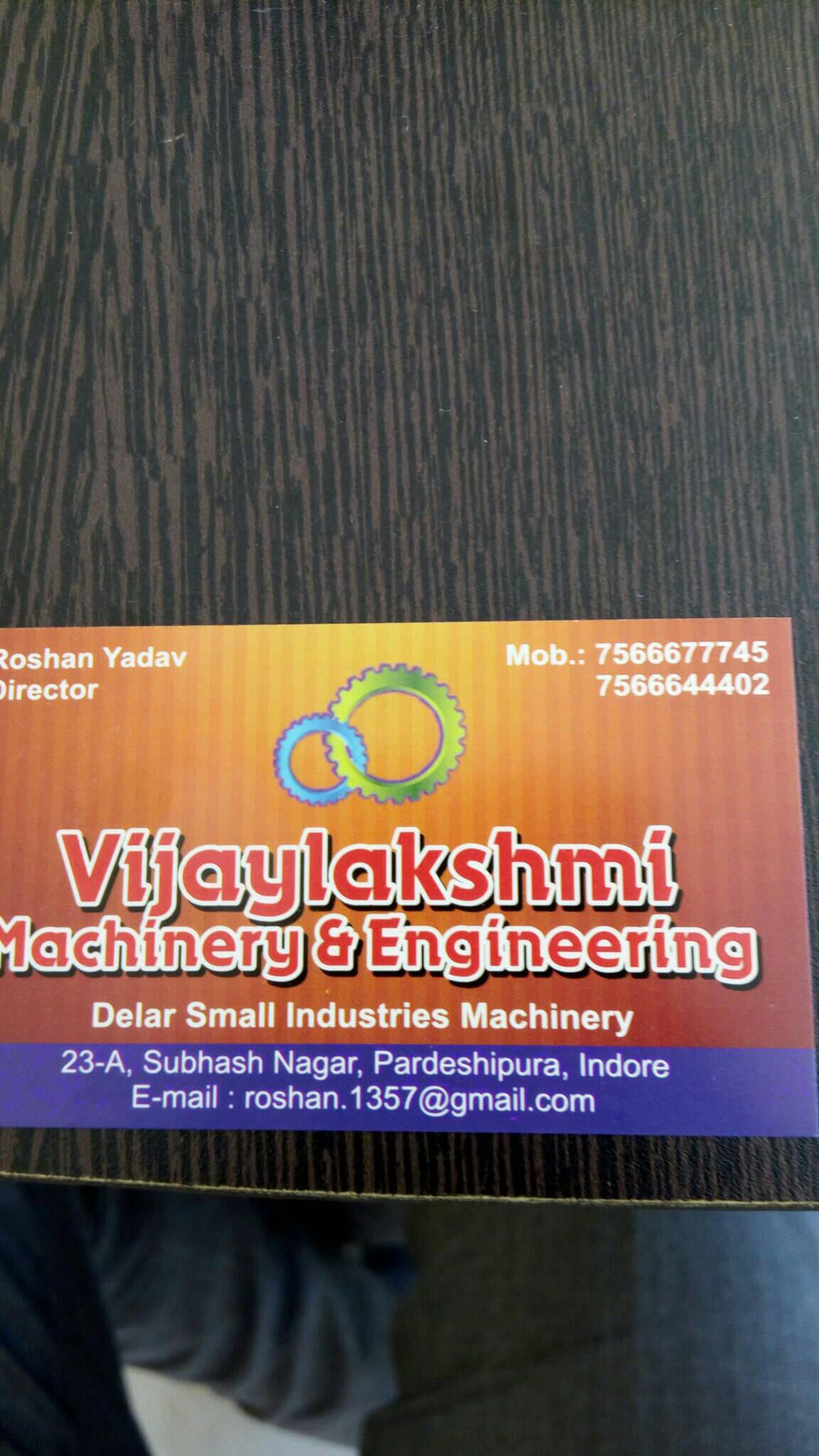 Vijaylakshmi Machinery - logo