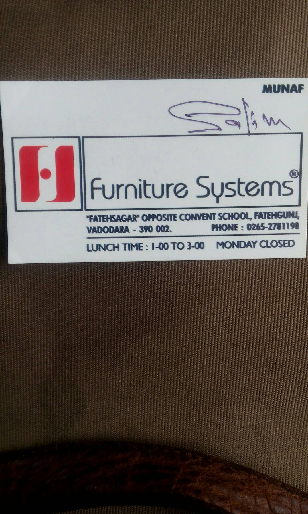Furniture Systems