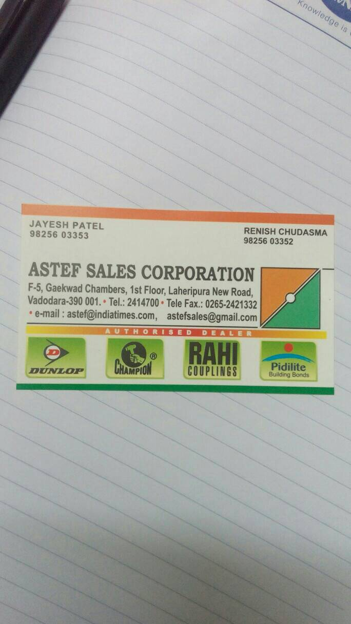 Astef Sales Corporation - logo