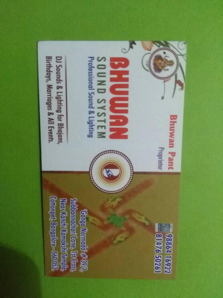 bhuwan sound system - logo