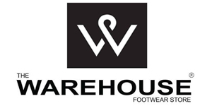 THE WAREHOUSE FOOTWARE STORE - logo