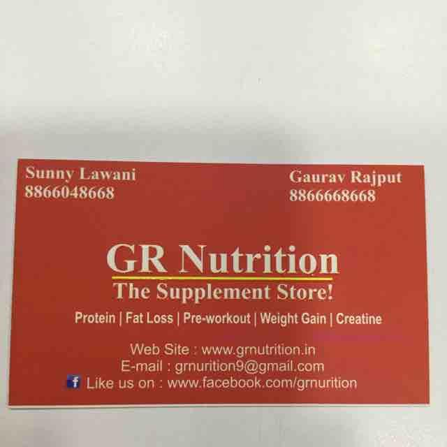 GR Nutrition - logo