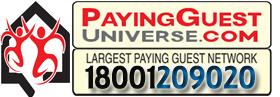 Universe hospitality @ Girls pg in noida - logo