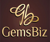 GemsBiz - A Manufacturing Company of Fine Quality Gemstones, Beads and Gold-Silver Jewelry - logo