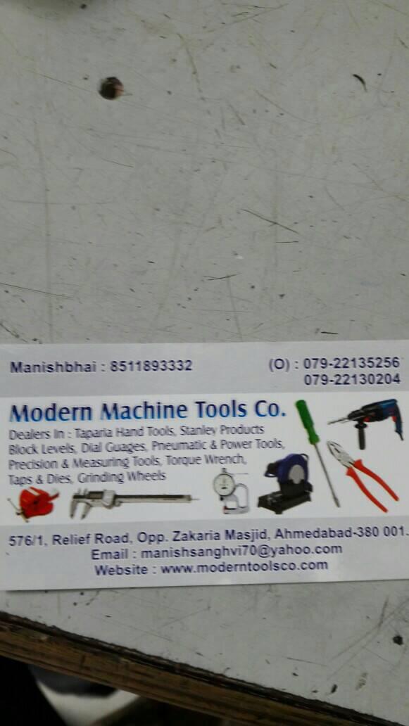 Modern Machine Tools Co. - logo