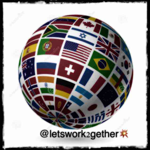 Letswork2gether - logo