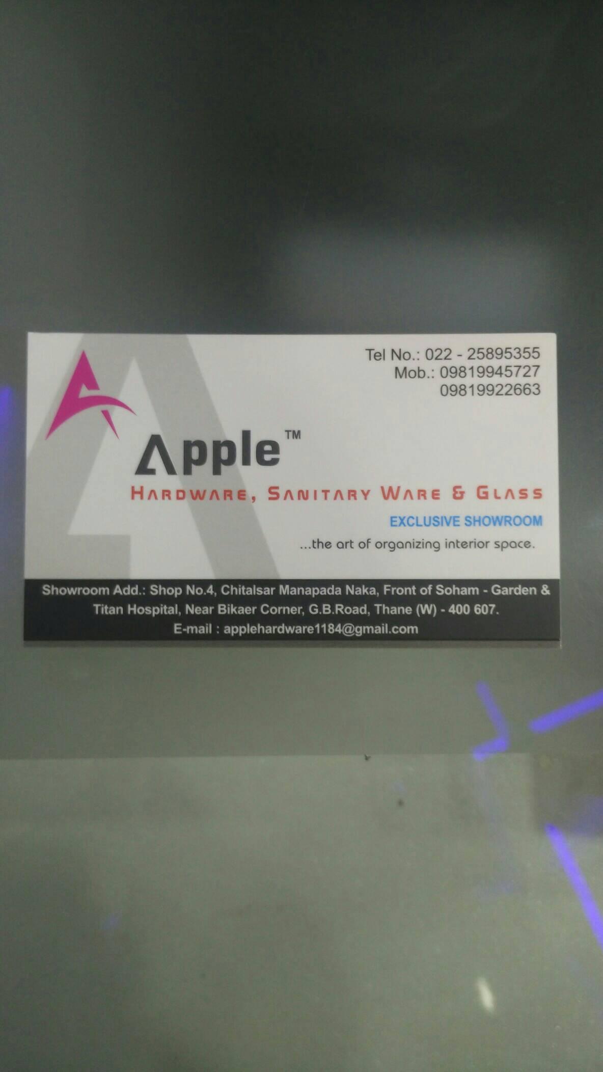 Apple Hardware & Sanitary Ware Thane - logo