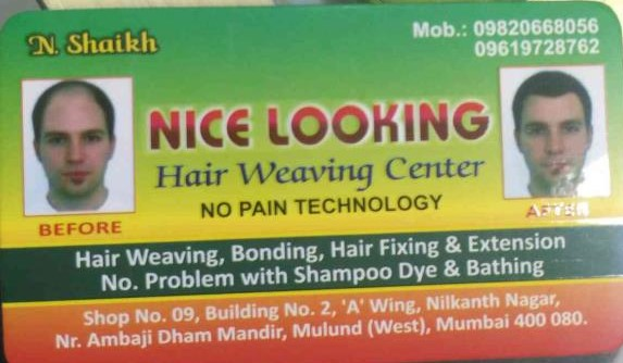 Nice Looking Hair Weaving Centre - logo