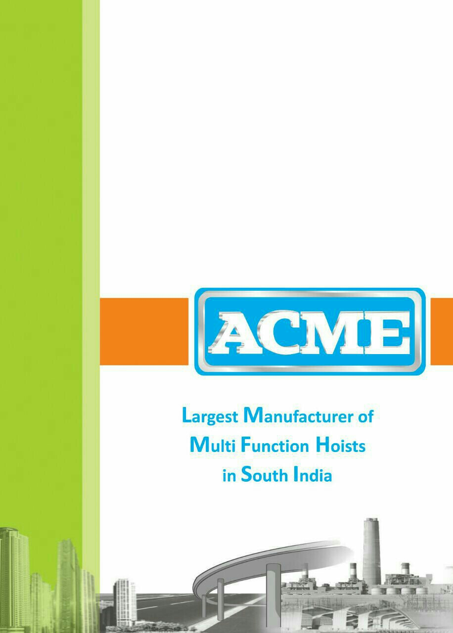 Acme Concrete Mixers Pvt Ltd