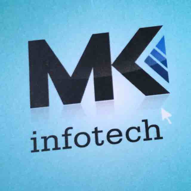 M K Infotech - logo