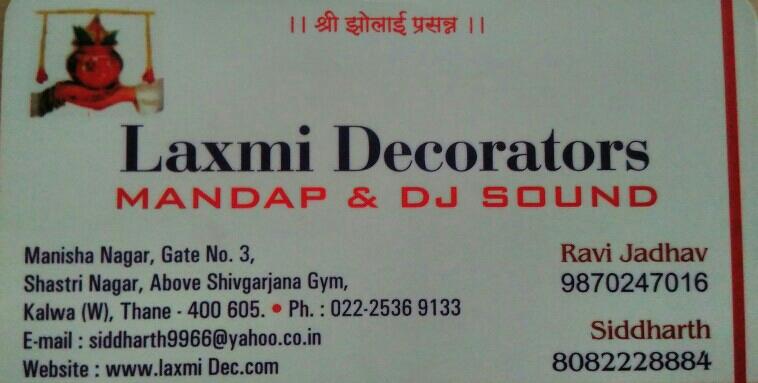 Laxmi Decorators