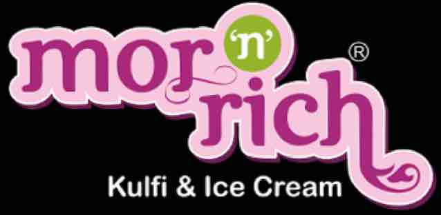 MOR N RICH ICE CREAM - logo