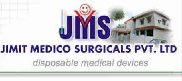 JIMIT MEDICO SURGICALS PVT LTD - logo