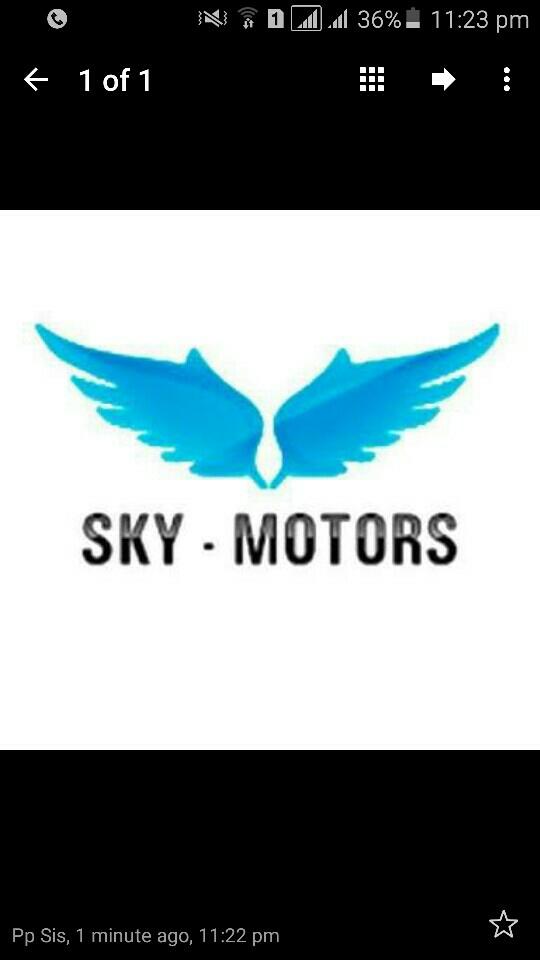 Sky Motors - logo
