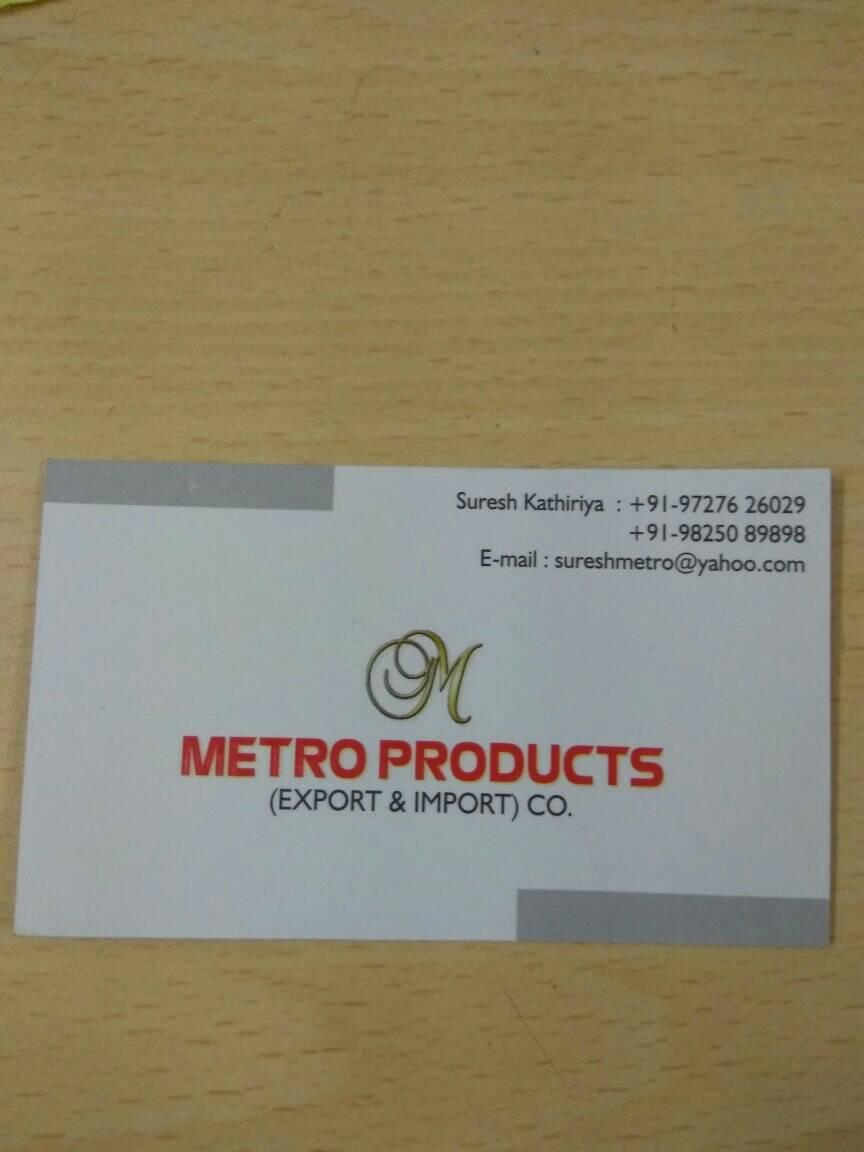 Metro Products - logo