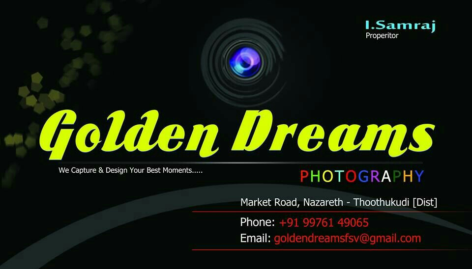 Golden Dreams Photography 9976149065 - logo