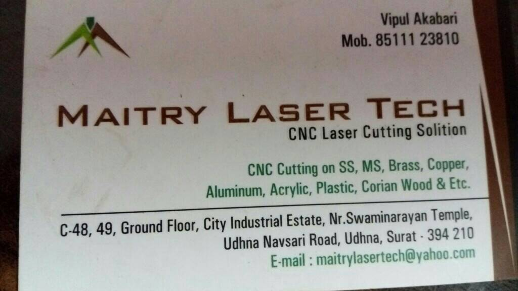 Maitry Laser Tech