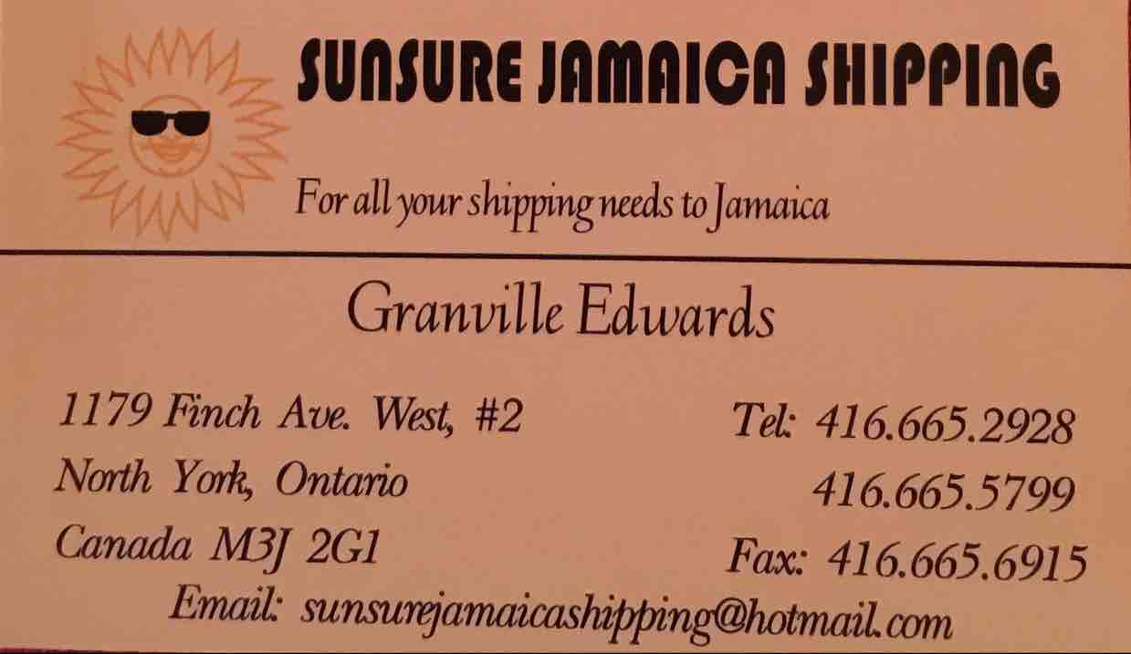 Sunsure Jamaica Shipping Company