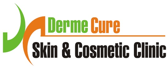 Derme Cure Skin & Cosmetic Clinic Call Us: 8220558899 - logo