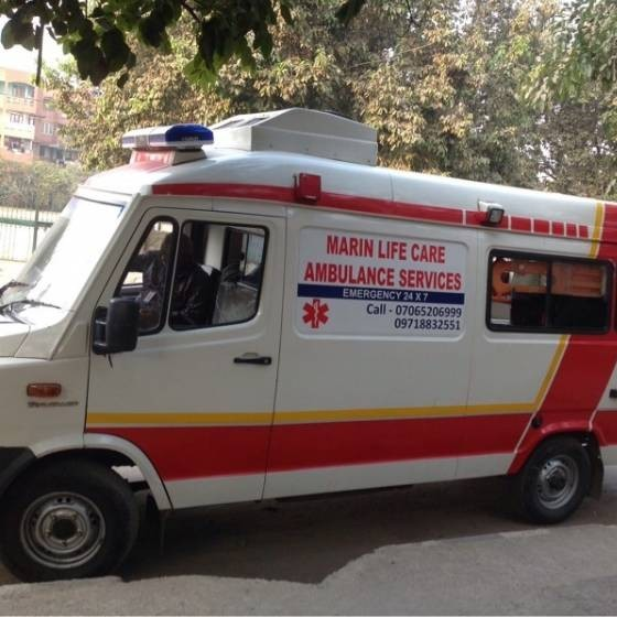 Marin Life Care Ambulance Services Delhi