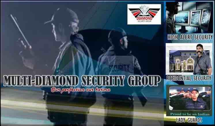 Multi diamond security group