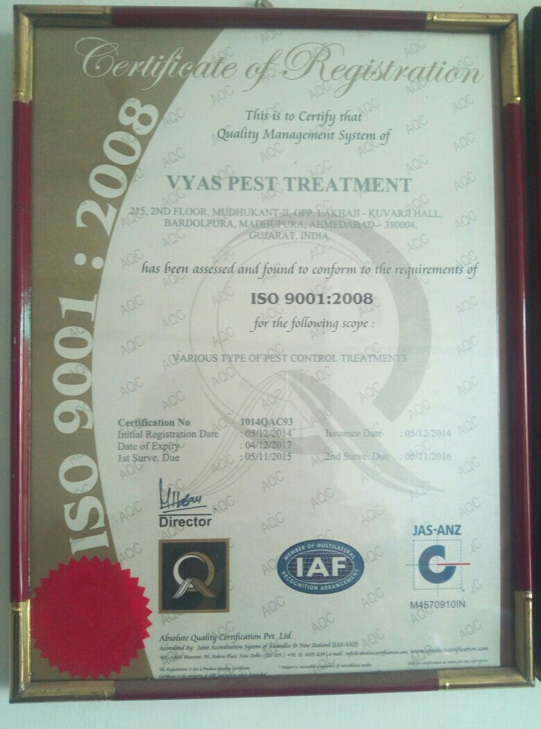 Vyas Pest Treatment