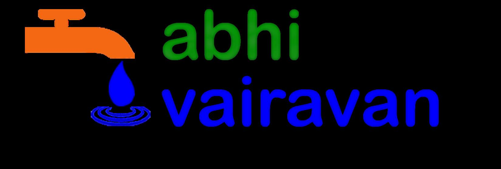 Abhi Vairavan's Plumbing Co.  Call Us  99625 44444 logo