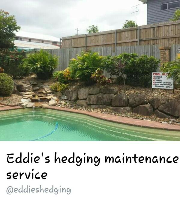 Eddies Hedging Maintenance Service